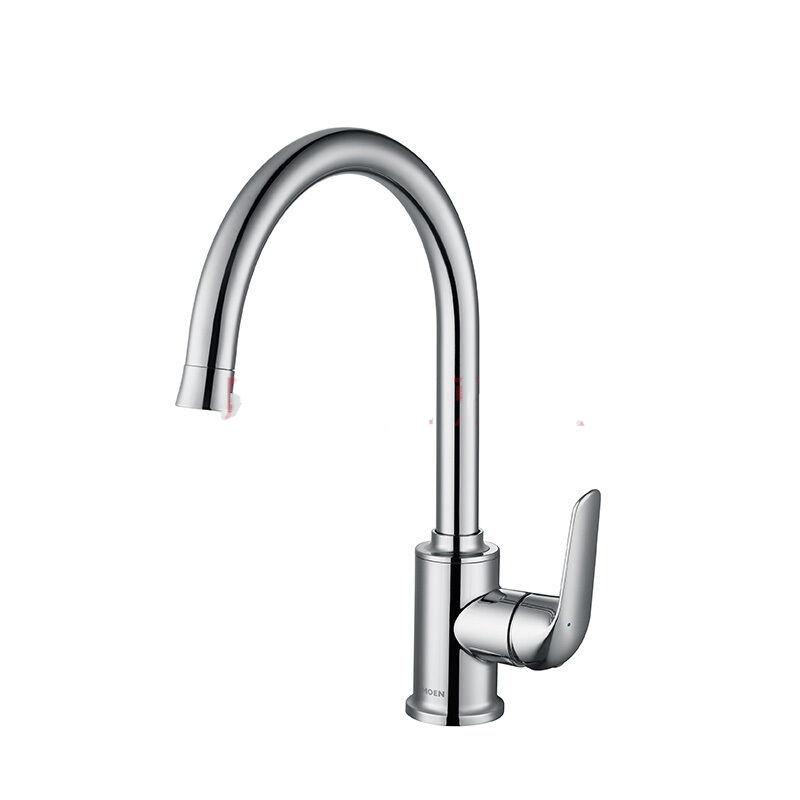 摩恩(MOEN)304不锈钢水槽单槽套装厨房洗菜盆 净铅龙头22178+67000+7029