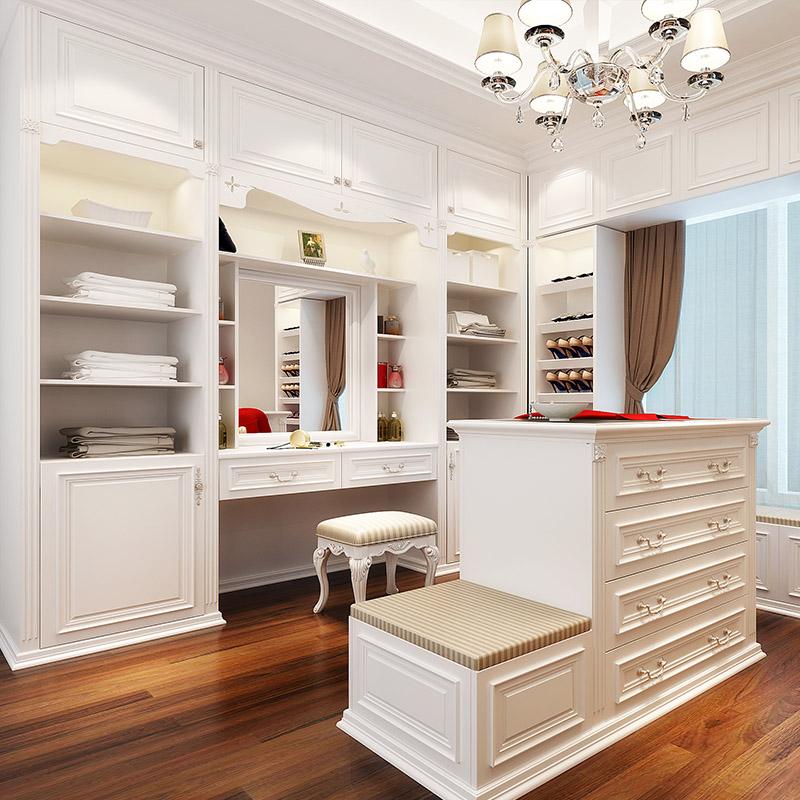 欧派全屋定制整体家具衣帽间衣柜多功能储物柜鞋柜定做预付金