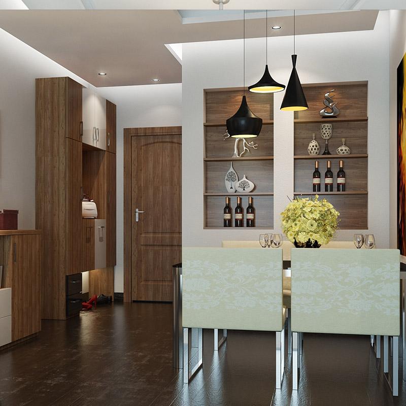欧派全屋定制客厅空间整体家具 简约背景电视柜玄关柜酒柜定做
