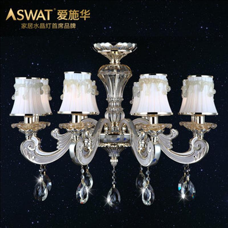 新天利灯饰(Tianli)行云流水北欧简约客厅灯水晶灯