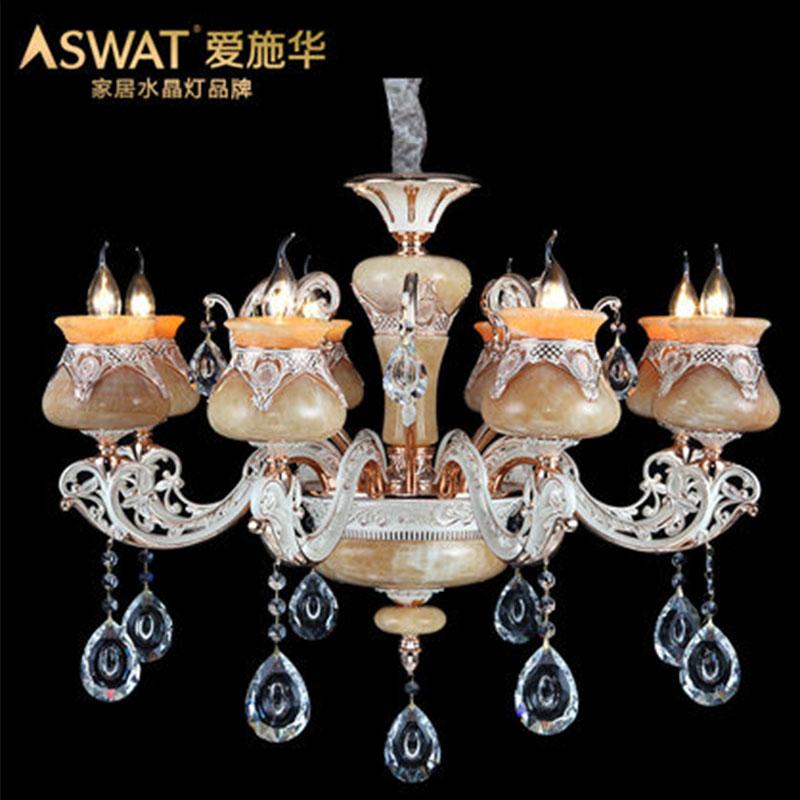 新天利灯饰(Tianli)旷世倾城奢华锌合金卧室客厅餐厅灯