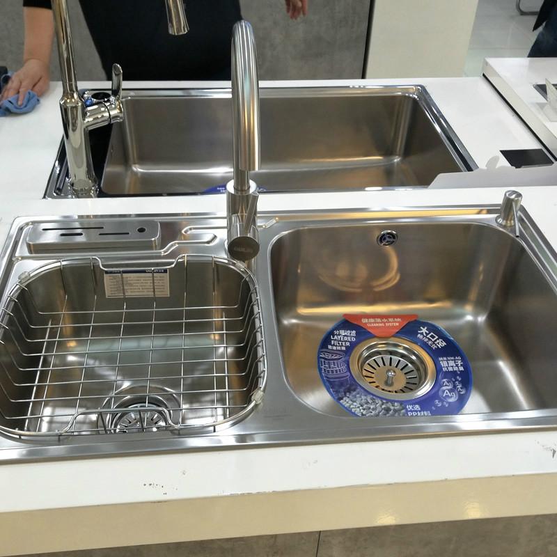 欧琳水槽 净水水槽 CS404S+CS9613