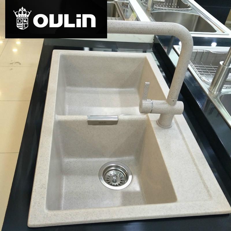 欧琳水槽 净水水槽 820*460 PL175+8083
