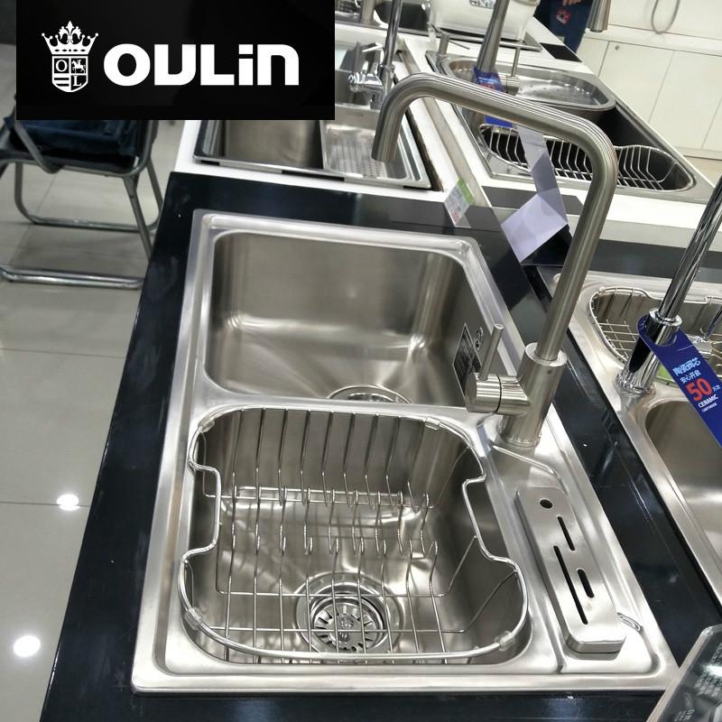 欧琳水槽 净水水槽 820*450 CS413+CS6502