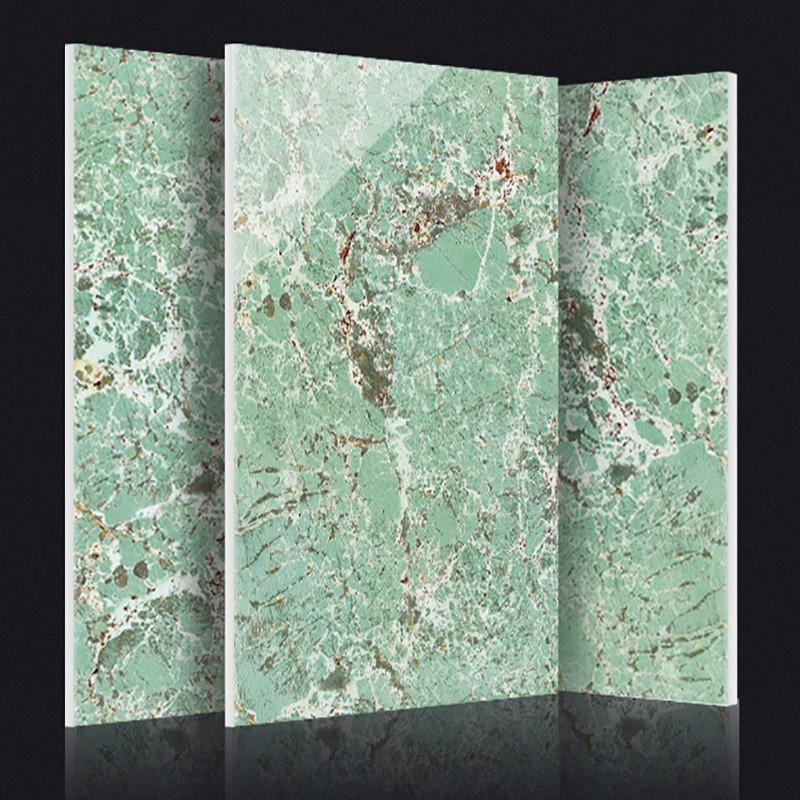简一大理石瓷砖 亚马逊绿 客厅背景墙墙砖卫生间瓷砖拼花地砖