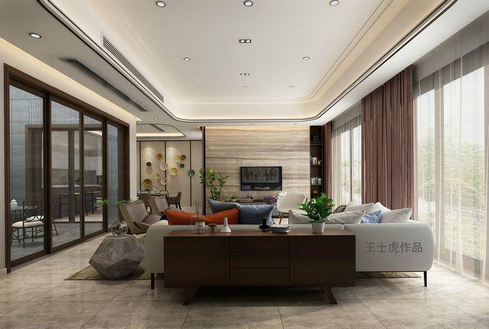 苏州 — 江枫园340平 — 别墅 — 现代简约 — 王士虎