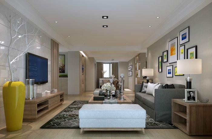 中海玺园 16幢 -三室-现代风格