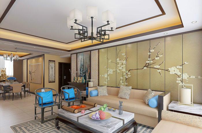 智慧城12幢-三室-新中式风格