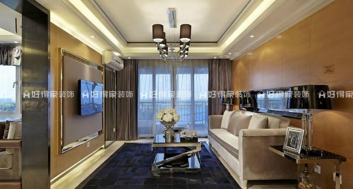 苏州 — 招商小石城8期A4户型2室2厅1卫97 — 平层 — 现代简约