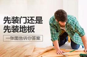 先裝門你還是先裝地板?門和地板正確安裝順序分析