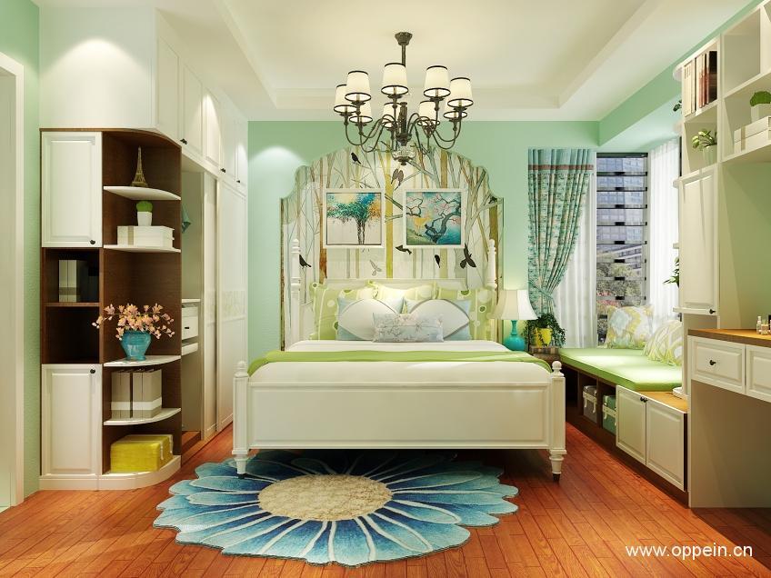 欧派衣柜美式风格卧室家具OPA0001202