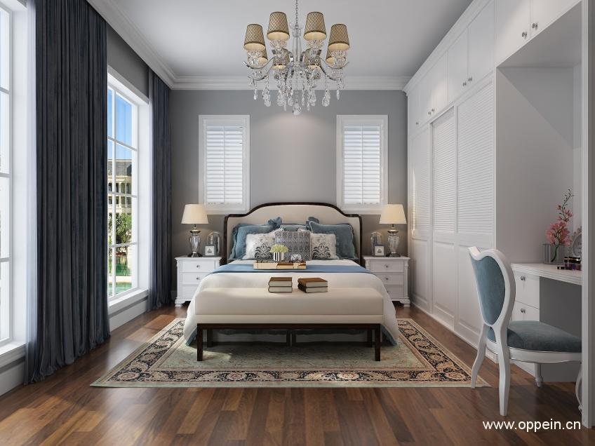 欧派衣柜简欧风格卧室家具OPA0001175