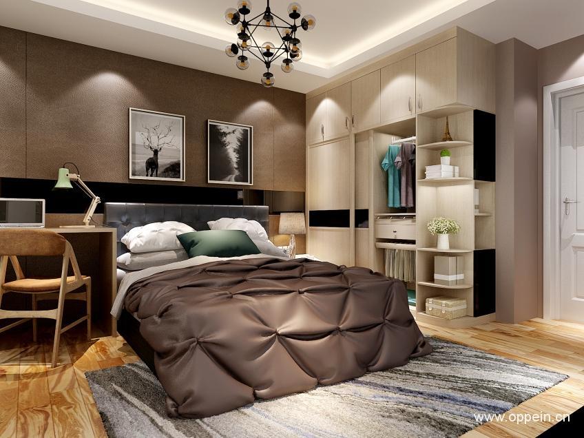 欧派衣柜现代风格卧室家具OPA0001136