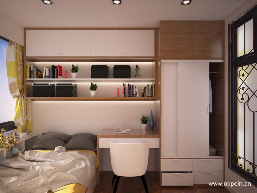 欧派衣柜北欧风格多功能房OPA0001230