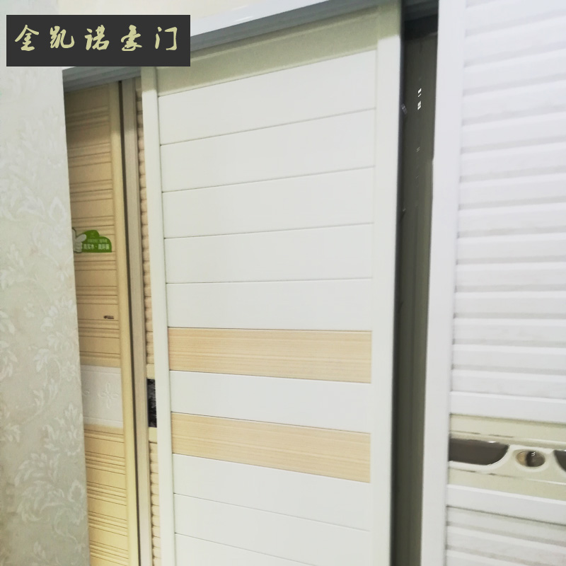衣柜推拉门2门现代简约卧室家具组装实木质柜子整体移门衣橱定制ND402