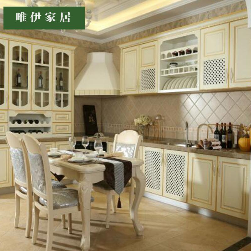 唯伊家居-厨具橱柜全套定制 餐桌椅橱柜全屋定制 欧式风格橱柜厨具