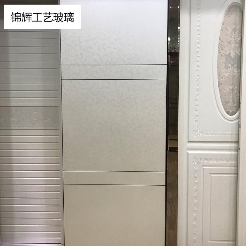 锦辉高清版衣柜门   现代简约如意白000122