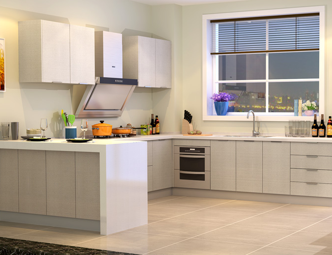 金牌厨柜整体厨房阿玛尼预付金现代简约定做装修橱柜定制金牌橱柜