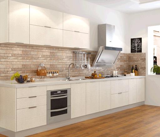 金牌厨柜整体厨房橱柜定制石英石台面开放式厨房装修枫之木语预付
