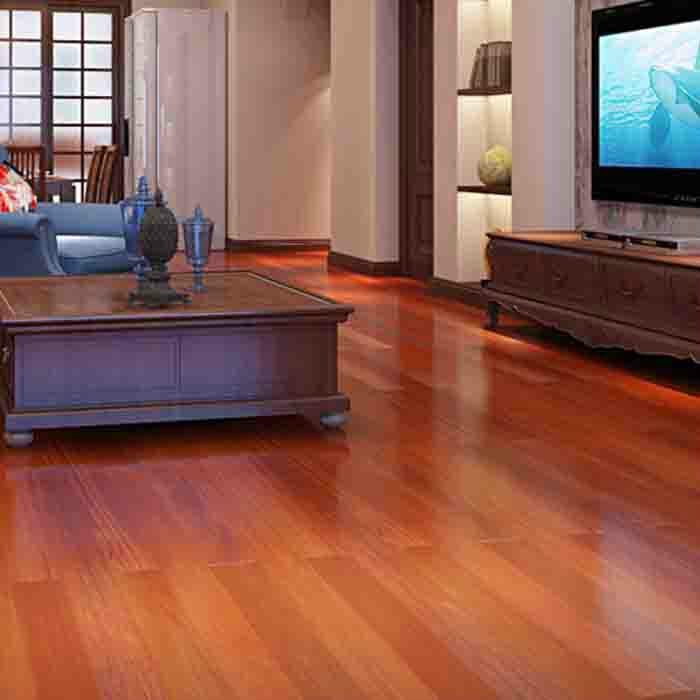 世友实木复合多层家用木地板 适用地热环境环保健康木地板