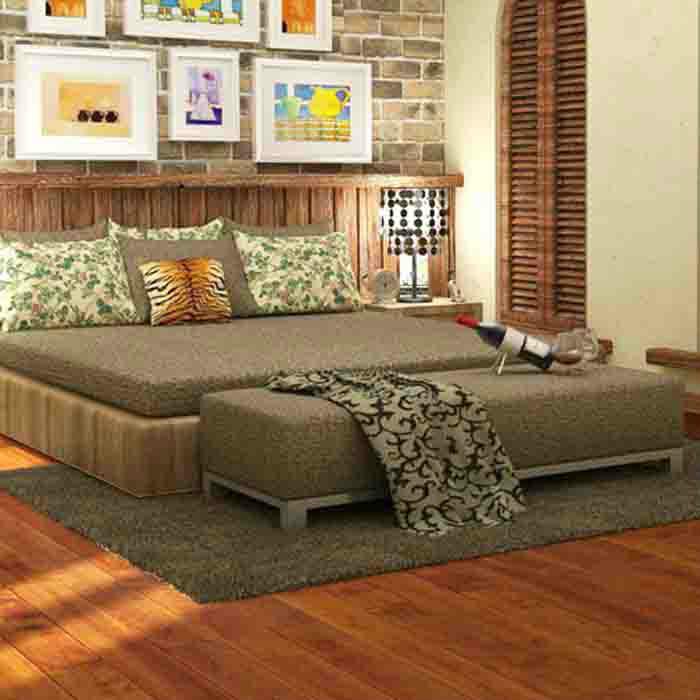 世友地板 桦木实木家用地板加厚18mm 纯实木地板