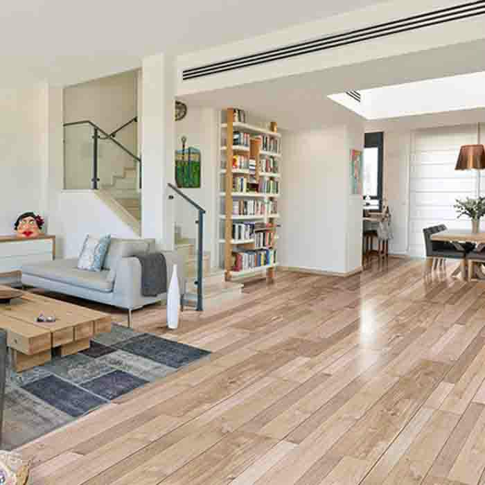 世友地板 橡木纹三拼实木地板防水耐磨家用地热复合木地板