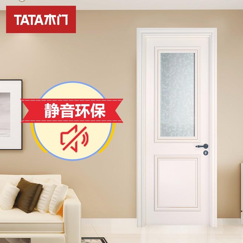 TATA木门(tata) 欧式简约全屋定制厨房卫生间门静音油漆室内门JOBL016-J