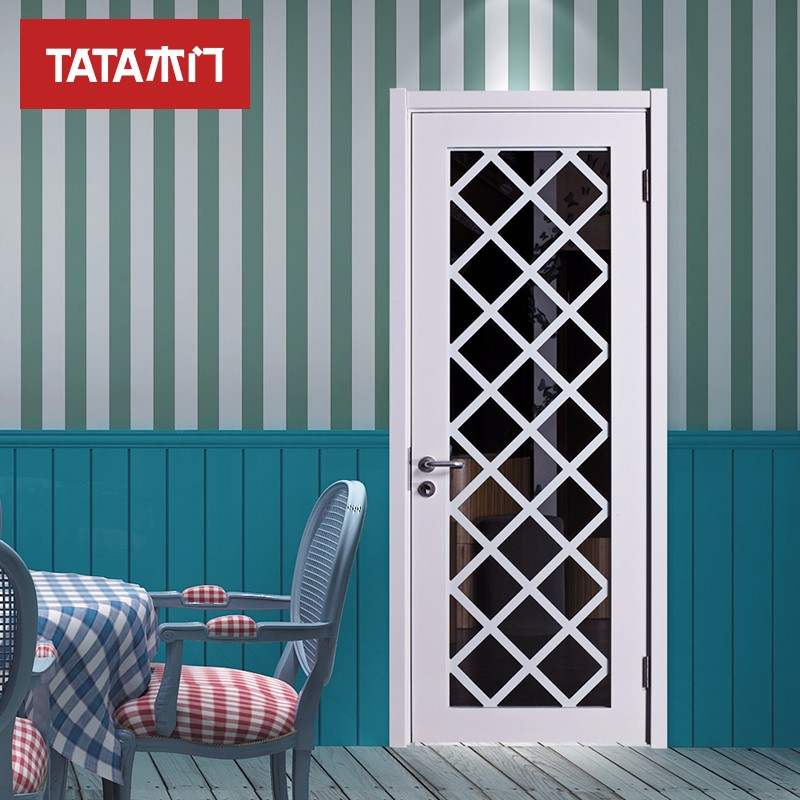TATA木门(tata)室内门 实木复合油漆木门 全屋定制木门 BL-031白混油