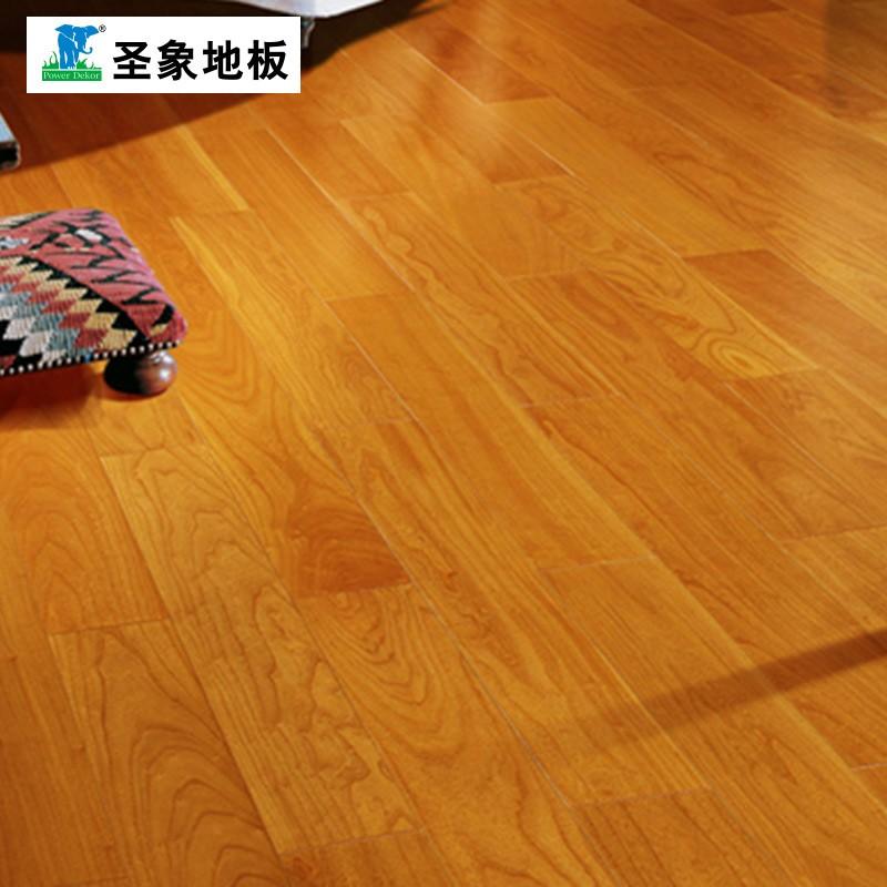 圣象地板 多层实木圣象艾斯本 AN8143 布拉格榆木规格:1210*165*15mm