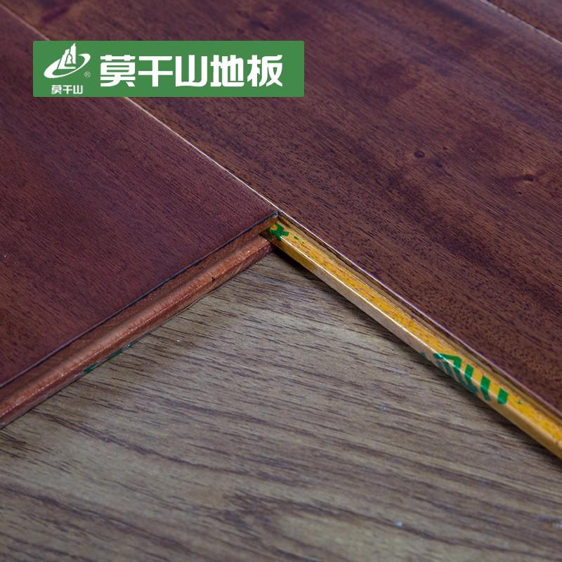 莫干山 桃花心木纯实木地板18mm 仿古木地板 厂家直销