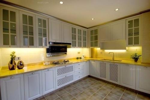 用瓷砖打造个性厨房