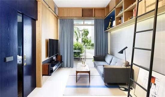 色彩控必看!用藍色傳遞家間的優雅氣息